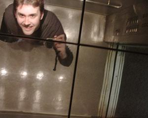 Craig Ingram | In an elavator in the Lone Star state | Wichita Falls, Texas