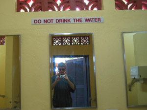 Dan Budiac | Do not drink the water | Labadee, Haiti