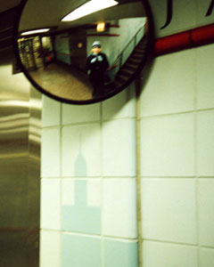 Dawn Mikulich | Subway Mirror | Chicago, IL