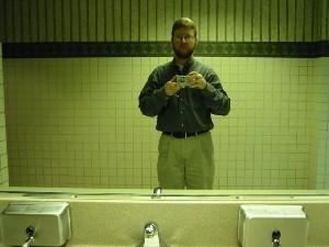 Jason Garrett | conference center restroom | Dublin, OH