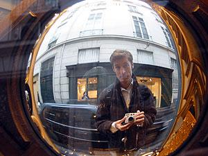 Karl Dubost | Fish Eye Mirror in Paris | Paris, France