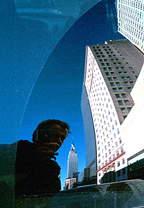 Witold Riedel | The Empire State Building and me (again) | New York City, 34th Street and 9th Ave