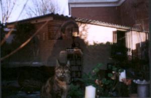 Luna | Self portrait with cat | Holland