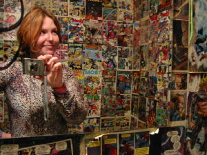 Jenn Herron | Comic Book Bathroom | Atlanta, GA