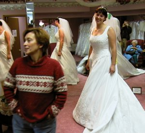 Keith Hammerbeck | Wedding Dress Shopping | Blaine, Minnesota