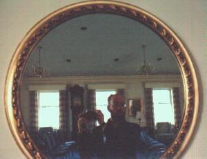 David Brownlee | Parlor Mirror | Basking Ridge, NJ, USA