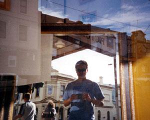 Shermen Mukhtar | Outside the gallery | Melbourne - Australia