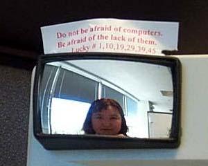 pamela | Monitor Mirror | Austin, Tx