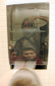 Paul Marcus | Isaac & Paul & The Towel Dispenser | Walnut Creek, California, USA