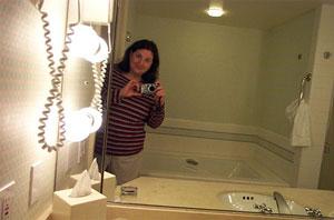 Robin | Ferociously Swanky bathroom | San Diego