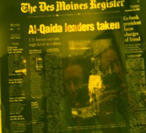 Jeff Bonker | Newspaper Negative | Des Moines, Iowa