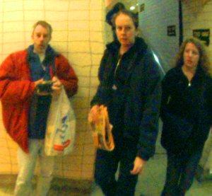 "Felix Grant | Poem on the Underground Wall | London, England; ""the tube"" underground railway"