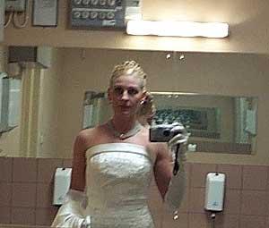 Jennifer Hallqvist   Fake bride