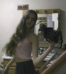 Rachel Rein | pink | bathroom, my boyfriend's house, Berkeley, California, USA