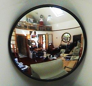 norah | me in mirror | sydney australia