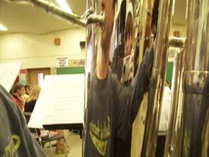 erika rae | band room two (tuba) | tvhs band room, zoarville ohio