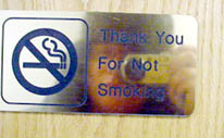 Sir Mildred Pierce | Thank You For Not Smoking | Sitnasuak Office Building, Nome, Alaska
