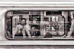 Lloyd Burchill | Waiting for the train | Emu Plains, NSW, Australia