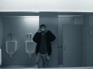 joseph | mens bathroom | library, wisconsin, usa