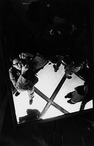 Wang Tat Tso | Standing on the glass above the sky | CN Tower, Toronto