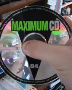 Karl-T. | CD- Cracked Disk | Bedroom