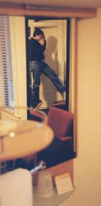 Jeremy Dunck   Mosser Hotel, 2 Mirrors   Mosser Hotel, 4th St., San Francisco, CA, USA