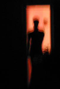 Jose   Night Reflection   My house, East LA, CA