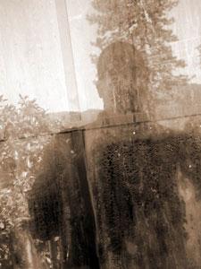 Michael Kuker | sepia glass | Lakehead, CA