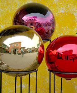 David R. Darrow | Glass Globes in Tijuana | Tijuana, Baja California, Mexico