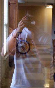 Hall Penn | Ghost, or Burning Tire | Brevard, NC