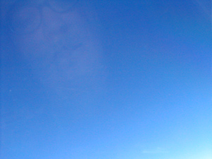 alison | Big Blue Sky | Somewhere above America