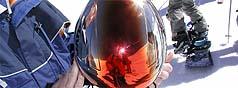 Georgy   helmet view   Les Arcs (Alps, France)