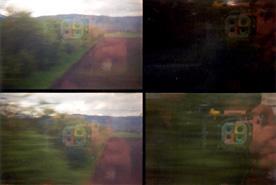 Anne | Fumetto | in the train Strasbourg/Basel
