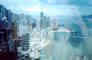Heather Martino | from the 60th floor | Central Plaza, Wanchai, Hong Kong