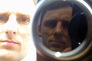 Pal Kossowski | Double self portrait. | Outskirts of Tokyo