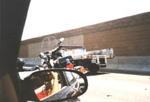 Shirley Raines | Freeway Chase 1 | 110 Los Angeles Freeway