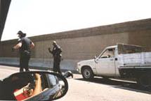 Shirley Raines | Freeway Chase 2 | 110 Los Angeles Freeway