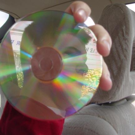 Sean Byron | Compact Disc In Transportation (Part 1) | Automobile, Clairemont Mesa Boulevard, San Diego, California.