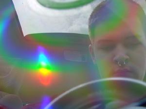 Sean Byron | Compact Disc In Transportation (Part 2) | Automobile, Clairemont Mesa Boulevard, San Diego, California.