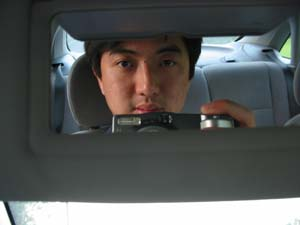Eric Ng | sun visor | 210 freeway.
