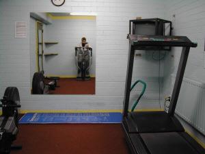 Poh Huai Bin | Roberts Hall Gym mirror | Melbourne, Australia