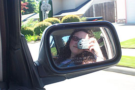 Kristine Beeson | glasses in the mirror | Vancouver, WA