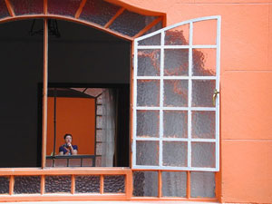 catherine mouttet | window to a mirrow | mexico city