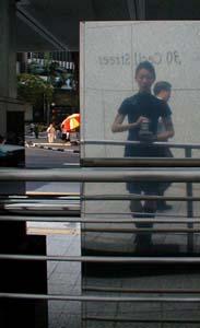 Andrea | Bus Stop | Raffles Place, Singapore