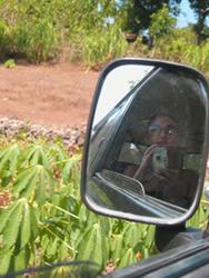 jen boxer | Side mirror | Bali