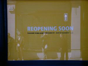 Gary Crucefix | Reopennig Soon | Mayfair, London, England
