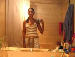 Jen | Appropriate attire | My Messy Bathroom, Oxley Walk, Singapore