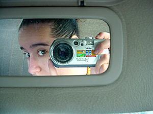 Mags Caserta | car mirror | toronto, canada.