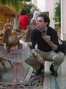 Jesse Walker | Hotel Lobby With Daughter | Oralndo, FL
