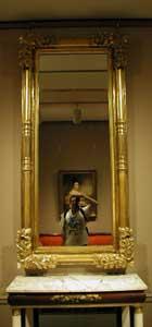 Eduardo Simioni | Self-portrait at a museum. | Metropolitan Museum of Art, New York NY